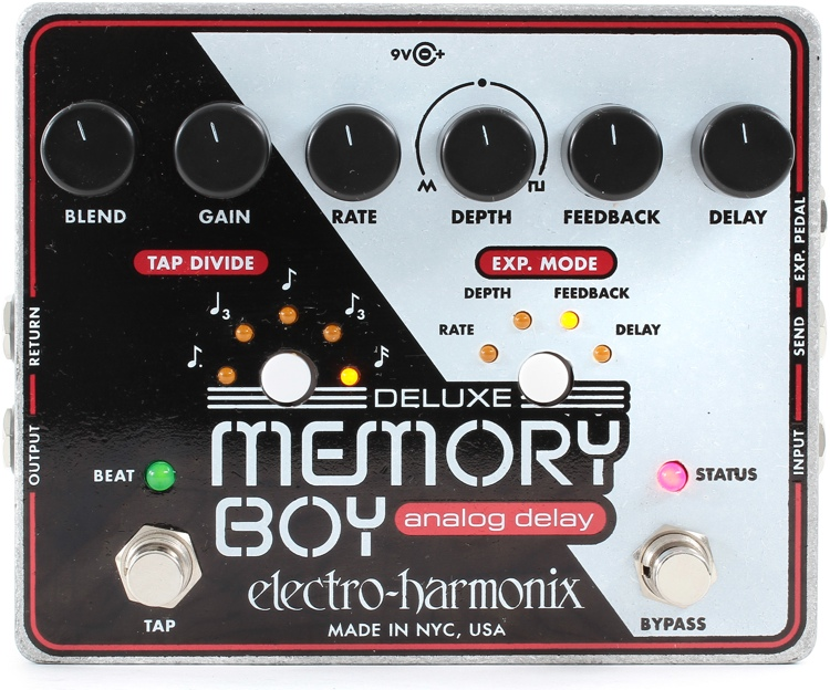 Deluxe Memory Boy with Tap Tempo Delay Pedal