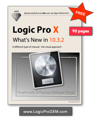Free Book Logic Pro X What S New In 10 3 2 Gearslutz