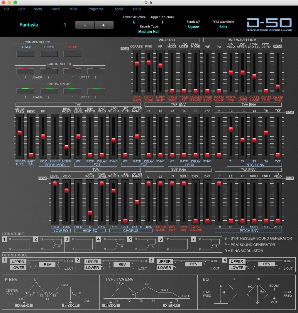 Roland D-50 Programmer Options - Gearslutz