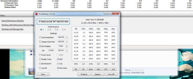 C1E, C3, C6, EIST, Speedstep, Turbo Boost, Core parking