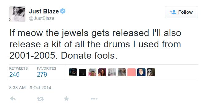 Just Blaze 2001-2005 Drum Kit??? - Gearslutz