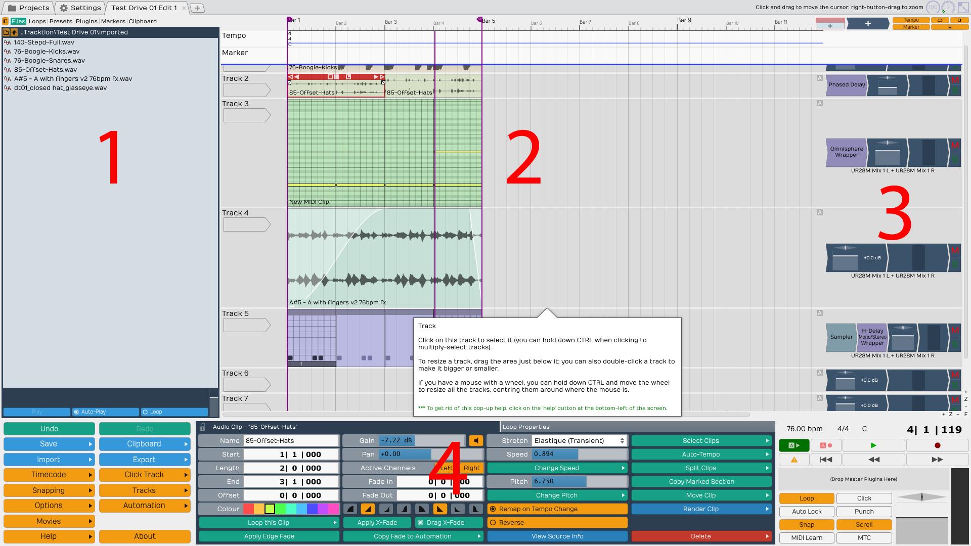 Tracktion 5 - User review - Gearslutz