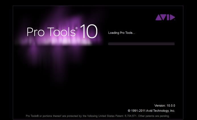 Pro Tools 10 will not get past startup screen (Windows 7