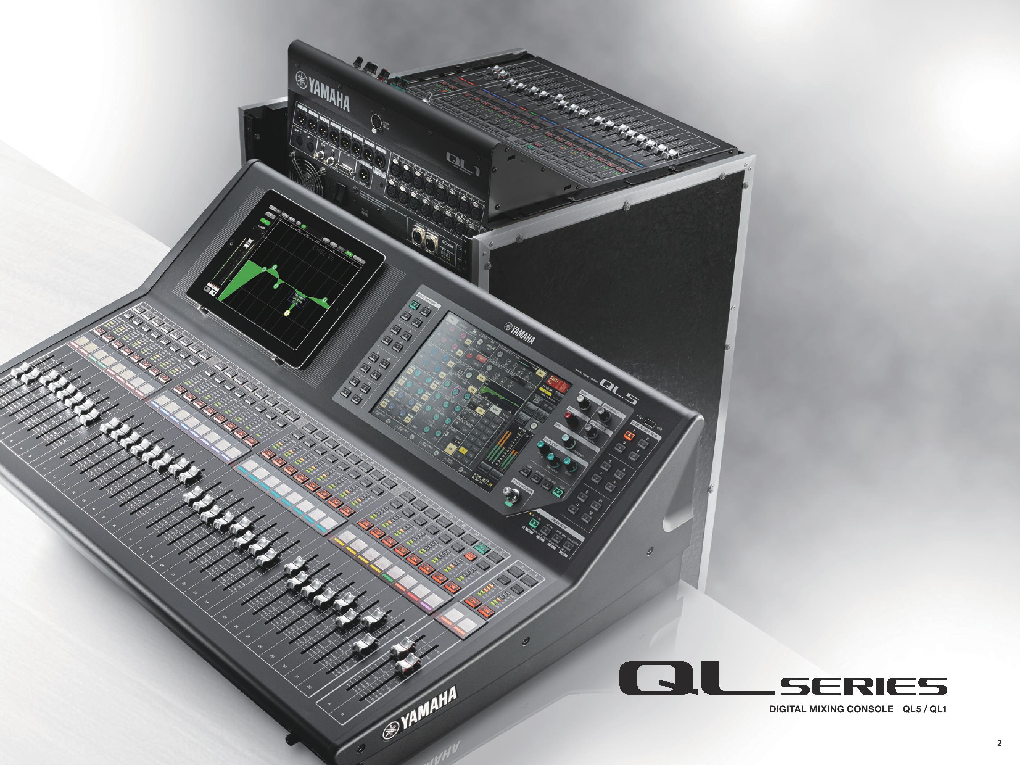 Something new from yamaha gearslutz pro audio community for Yamaha ql 3