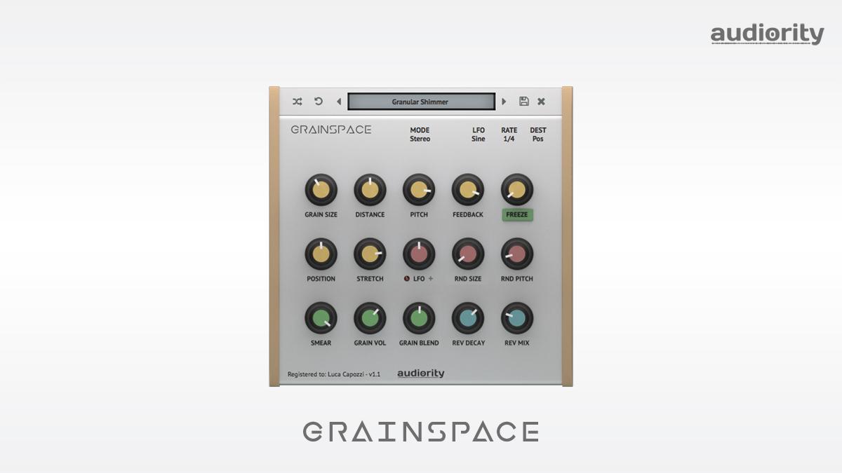 GrainSpace - Granular Reverb Processor - VST/AU/AAX - Intro Price