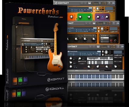 New Concept Automatic Guitar Power Chords For Kontakt Pettinhouse