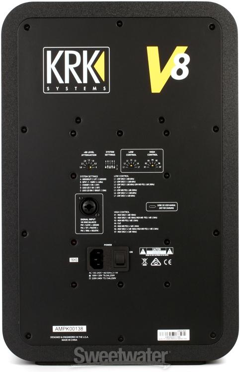 New KRK V8 and V6 S4 Monitors? - Gearslutz