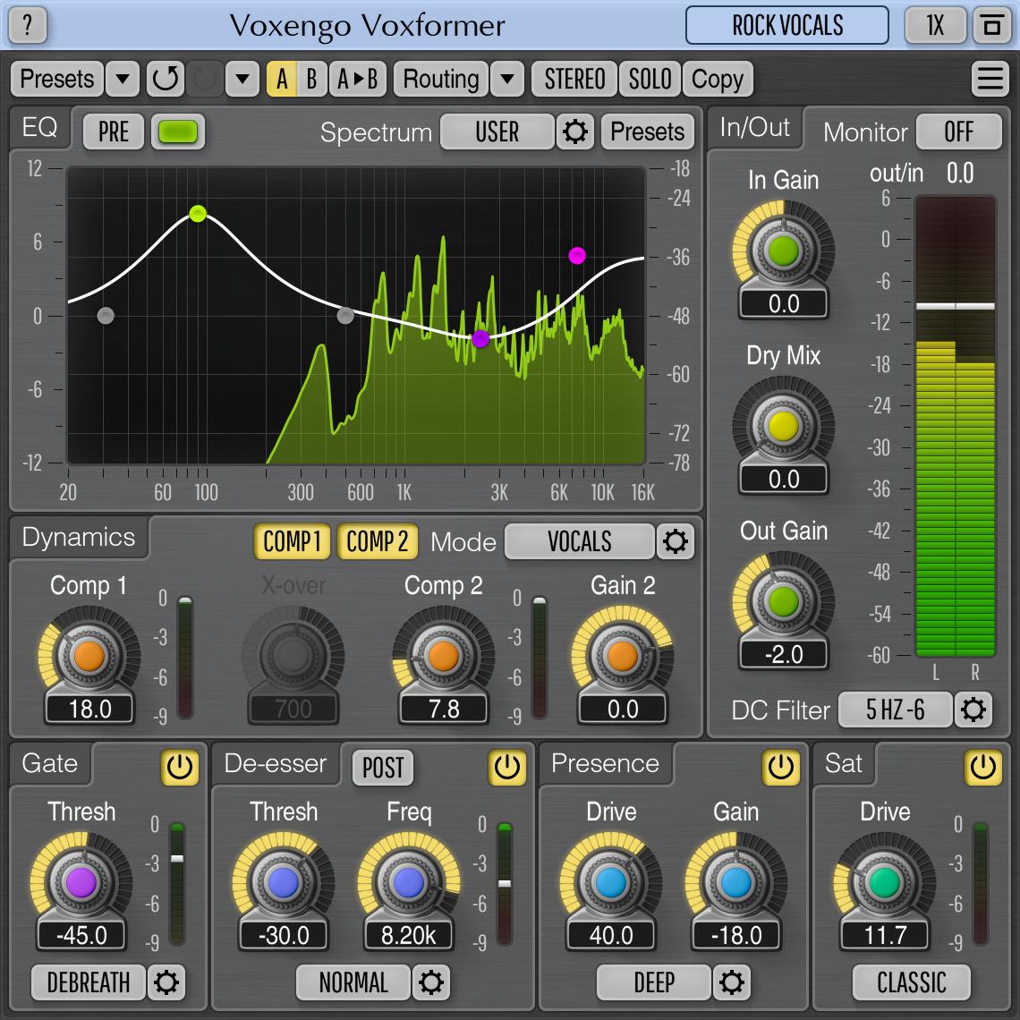 Voxengo Voxformer - impressive or what? - Gearslutz