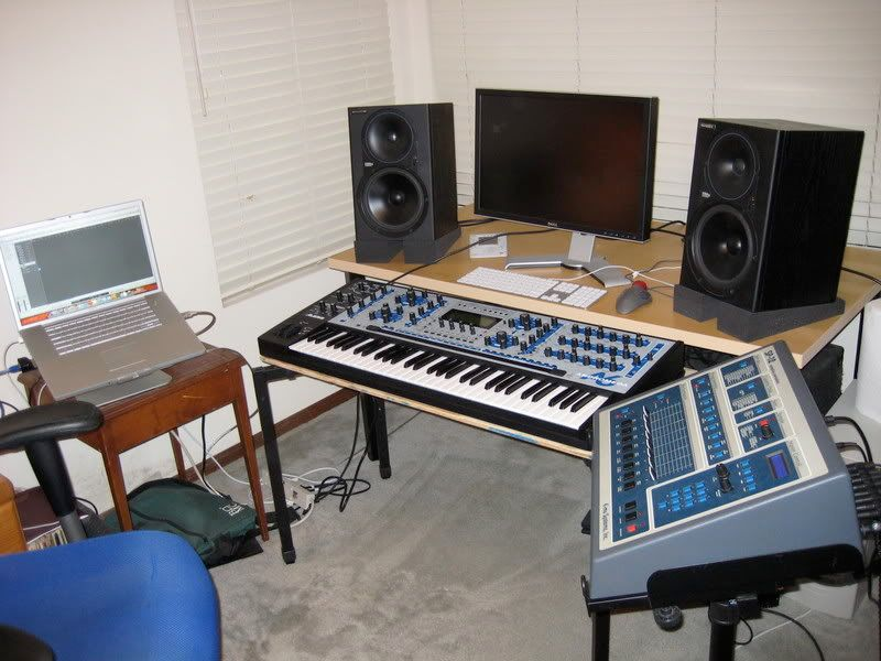 Need help with bedroom studio setup with a new large desk for Studio vs 1 bedroom difference