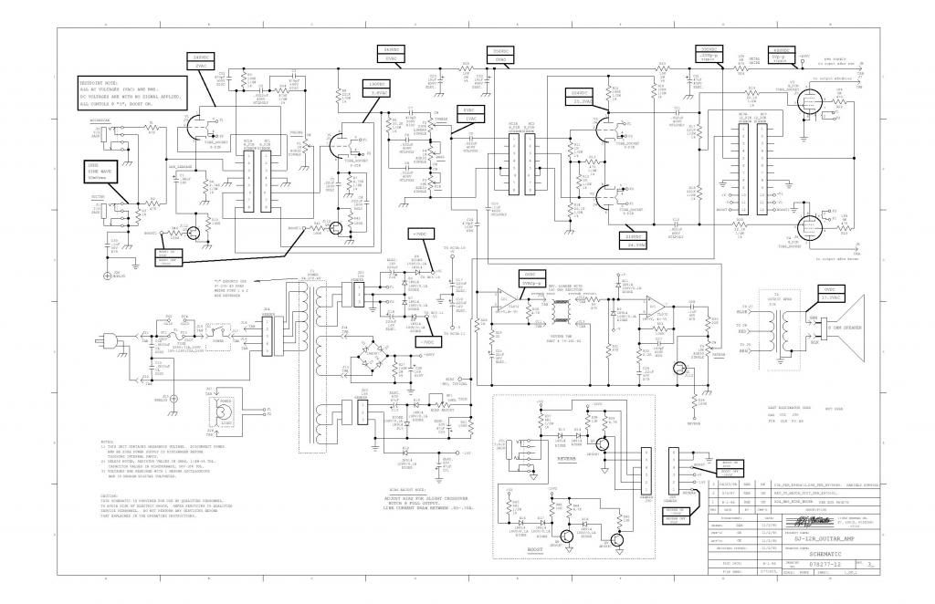 Marshall Mods Schematics Marshall TSL 100 First Design