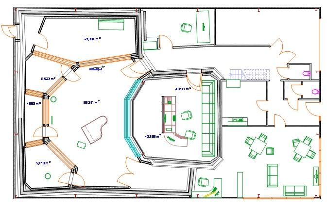 Lef and studio scala are building a new recording for Photography studio floor plans